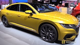 Download 2018 Volkswagen Arteon R-Line - Exterior and Interior Walkaround - 2017 Frankfurt Auto Show Video
