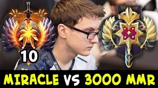 Download When TOP-10 meets 3000 MMR — MIRACLE vs Legend Rank Video