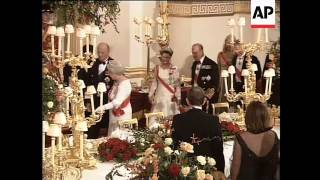 Download Norwegian royals at Camilla's first banquet as Duchess Video