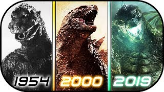 Download EVOLUTION of GODZILLA in Movies (1954-2019) Godzilla King of the Monsters 2019 Ready Player One 2018 Video