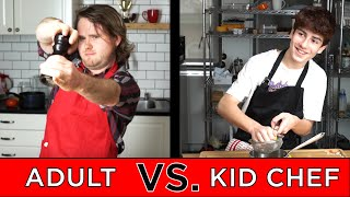Download Kid Professional Chef Vs. Adult Chef Video