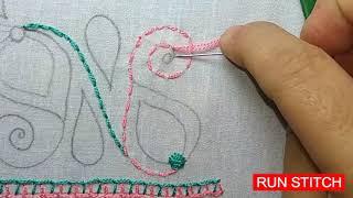 Download Latest Nakshi kantha stitch tutorial-44 PART 2, নকশী কাঁথা সেলাই, কাঁথার ফোড়, আধুনিক কাঁথা টিউটোরিয়া Video