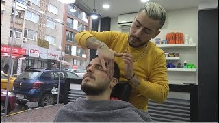 Download ASMR Turkish Barber Face, Head and Body Massage 210 💆♂️👍💈 Video