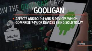 Download Hacking scheme 'Gooligan' infects 1.3 million accounts on android Video