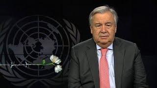 Download Memória do Holocausto: ONU pede mundo de igualdade Video
