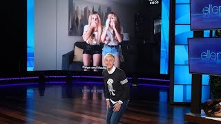 Download Ellen Puts Fans' Dance Skills to the Test Video