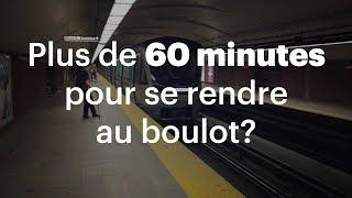 Download Plus de 60 minutes pour se rendre au boulot? Video