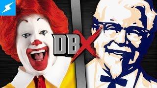 Download Ronald McDonald VS Colonel Sanders (McDonald's vs KFC) | DBX Video