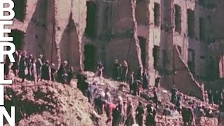 Download Berlin and Potsdam 1945 - aftermath (HD 1080p color footage) Video