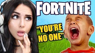 Download KID IS *MEAN* ON FORTNITE THEN FINDS OUT I'M A GIRL... Video