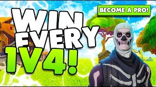Download How To Win Every 1v4 Fight! | Win More Fights! | Tips & Tricks | Fortnite Battle Royale Video