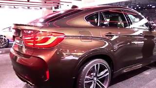 Download 2017 BMW X6 M Brown Premium Features   New Design Exterior Interior   First Impression HD Video