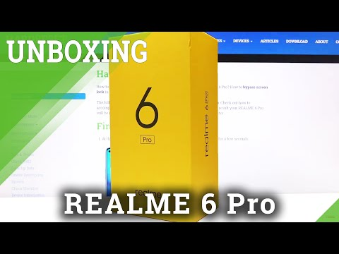 Unboxing REALME 6 Pro – First Impression of REALME 6 Pro