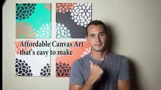Download Easy Canvas Art for the Amatuer Artist Video