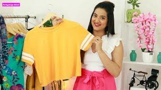 Download पेट मोटा हो तो Crop Top कैसे पहनें ? 4 Crop Top Styling Tips Plus Size | Perkymegs Hindi Video