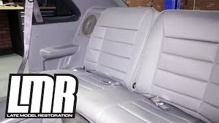 Download How To: Install 1979-1993 Mustang Corbeau Rear Seat Upholstery Video