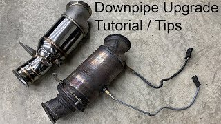 Download BMW M235i / N55 Downpipe Upgrade Tutorial / Tips Video
