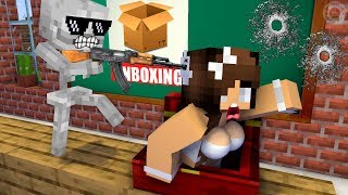 Download Monster School : Unboxing Present from Herobrine - Funny Minecraft Animation Video