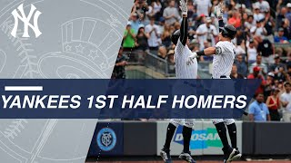 Download 2018 Yanks set MLB first-half record for HRs with 161 Video