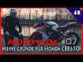 Download Meine Gründe für Honda CBR650F   Motovlog #07 Video