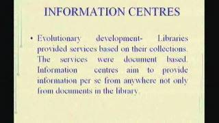 Download Libraries and Information Centres - Their Role in Information Society Video