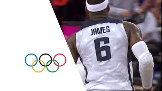 Download USA v AUS - Men's Basketball Quarterfinal | London 2012 Olympics Video