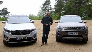 Download Land Rover Discovery Sport vs Kia Sorento | TELEGRAPH CARS Video