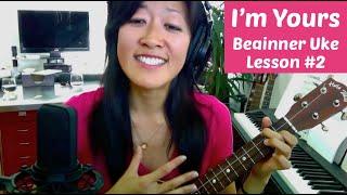 Download I'm Yours | Beginner Ukulele Lesson #2: Backbeat Strum Video