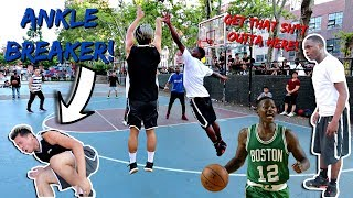 Download TRASH TALKER TERRY ROZIER TWIN BROKE MY ANKLE HOOPING!! Video