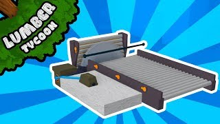 Download Simplest 1x1 Automatic Sawmill Setup in Lumber Tycoon 2! | Roblox Video
