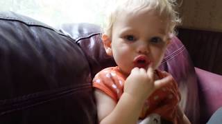 Download TOO CUTE Breastfeeding Toddler just learned to sign for more food and milk! Video