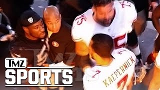 Download Colin Kaepernick - Halftime Showdown with Raiders LB ... 'I'm Coming for You' | TMZ Sports Video