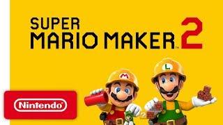 Download Super Mario Maker 2 - Announcement Trailer - Nintendo Switch Video
