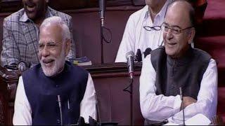 Download PM Modi And Arun Jaitley LAUGH At Naresh Agrawal's Joke Video
