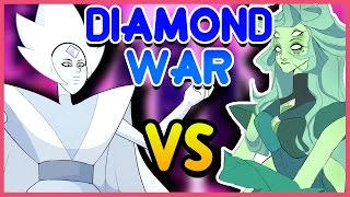 Download White Diamond vs. GREEN Diamond!? (Homeworld Civil War) - Steven Universe Theory Video