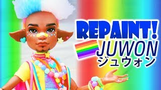 Download Repaint! PRIDE Juwon Harajuku Decora Kei Fashion Doll Video