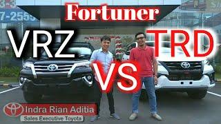 Download Review Fortuner TRD VS VRZ Video