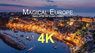 Download Magical Europe - 4K Timelapse 歐洲30國縮時攝影 Video
