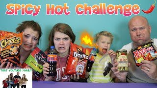 Download SPICY HOT CHALLENGE / That YouTub3 Family Video