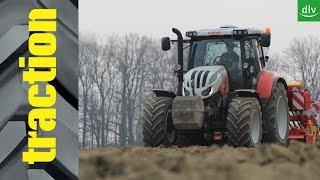 Download Steyr Profi 4145 CVT im traction Erstkontakt Video