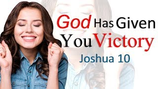 Download GOD HAS GIVEN YOU VICTORY - BIBLE PREACHING Video