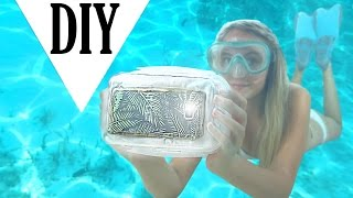 Download DIY UNDERWATER CASE for your phone Video