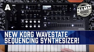 Download NEW Korg Wavestate Wave Sequencing Synthesizer! - NAMM 2020 Video