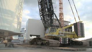 Download Liebherr - LR 1600/2 (assembly of a Mixing Tower) Video