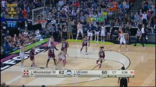 Download (NCAAW) Mississippi State vs UConn Overtime Highlights Video