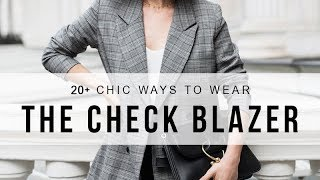 Download How To Wear The Check Blazer This Fall Video