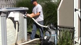 Download 2014 Eliminator Above Ground Winter Pool Cover Installation Video
