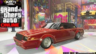 Download GTA 5 ONLINE - LOWRIDER DLC - BENNY'S ORIGINAL MOTOR WORKS FT DCP1293 Video