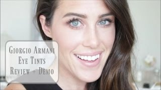 Download Giorgio Armani Eye Tints ~Tutorial + Review Video