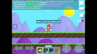 Download Growtopia | How to spam! Video
